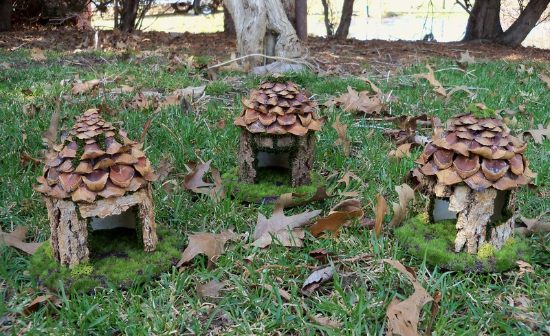 New fairy houses