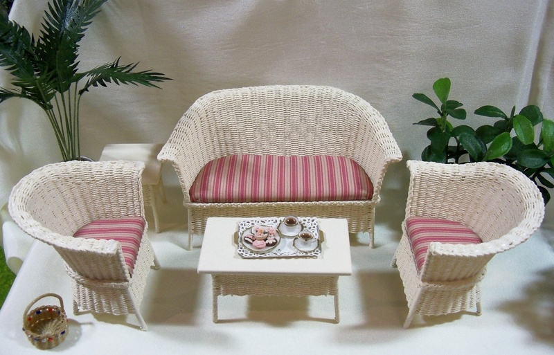 New design wicker set