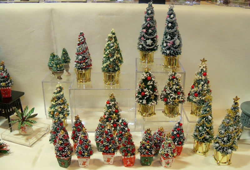 Small Christmas trees