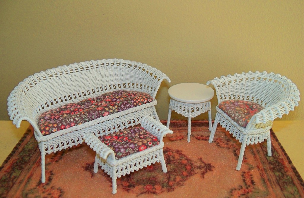 Wicker furniture class samples